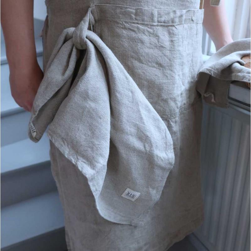 Kökshandduk i 100% franskt linne